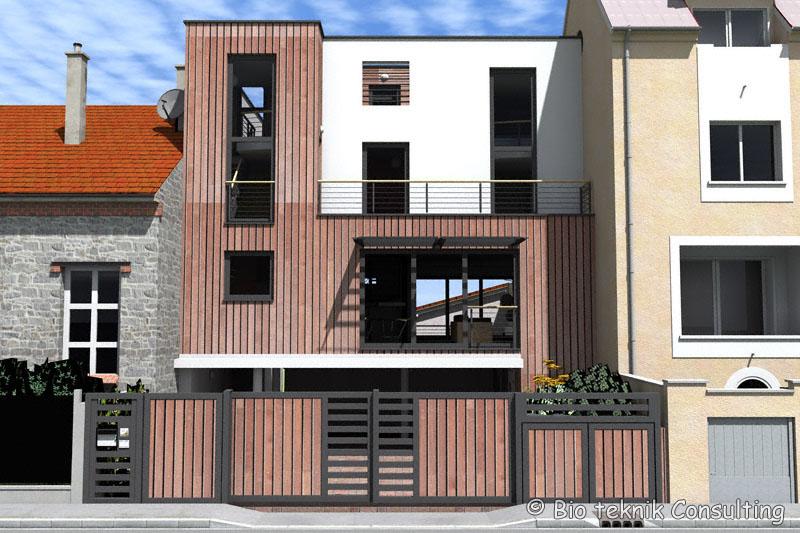 la maison ecolo d issy les moulineaux bio teknik consulting. Black Bedroom Furniture Sets. Home Design Ideas