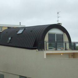 vue d'ensemble du toit