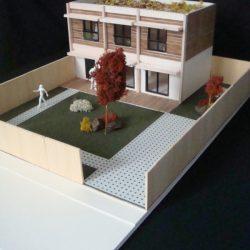 La maquette de la maison écologique de Brunoy