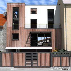 Maison écologique d'Issy-les-Moulineaux 10 allee des coutures